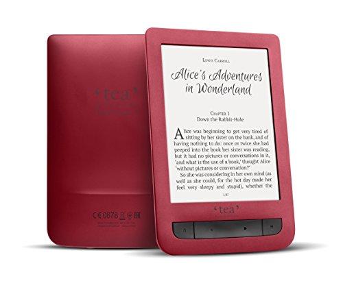 Tea Touch Lux 3 lettore e-book Touch screen 4 GB Wi-Fi Rosso