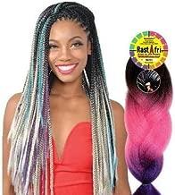 Rastafri Braiding Hair - HIGHLIGHT JUMBO BRAID (3T1B/30/613 - Off Black/Light Auburn/Platinum)