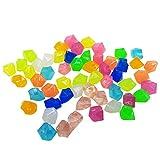 Rehomy 300 piedras luminosas que brillan en la oscuridad para jardín, patio, pecera, acuario, decoración de pasarela