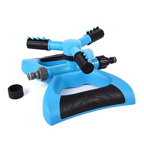 Arroseur rotatif, trois bras rotatif Douchette rotatif à 360 ° arroser Buse pour jardin l'agriculture