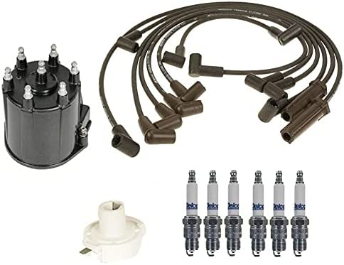 Austin Mall Ignition Long-awaited Kit Distributor Rotor Cap Spark Plugs Wire Compatible