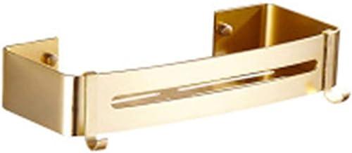 Parshall badkamer douche hoek plank geen boren roestvrij ruimte aluminium douche Caddy opslag voor badkamer keuken, goud