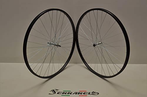 Cicli Ferrareis Cerchi 28 1v Fixed Scatto Fisso Single Speed Neri Personalizzabili