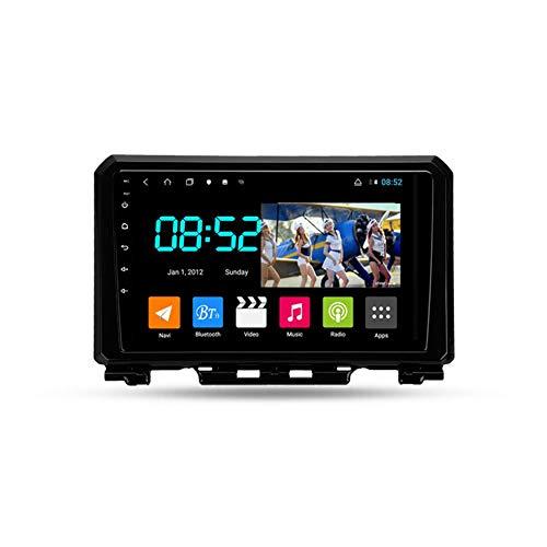 Autoradio Coche Bluetooth 2 Din Android Radio De Coche 9'' Pantalla Táctil Wifi Plug And Play Completo RCA SWC Soporte Carautoplay/GPS/DAB+/OBDII Para Suzuki Jimny 2018-2020,Octa core,4G Wifi 4G+64G