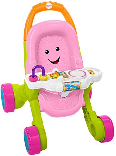 Fisher-Price Stroll & Learn Walker, Pink