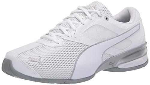 PUMA Women's Tazon 6 Sneaker, White-Quarry, 6 M US