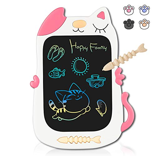 Kindlov-toys LCD Writing Tablet 3 Pcs 8.5 Inch Childrens LCD Drawing Board Light Energy Electronic Blackboard Household Color Graffiti Board Painting Board Drawing Tablet for Kids