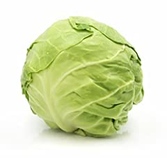 One head of locally grown green cabbage Perfect for stuffing, frying, sauteeing or shredding! Produce may vary based on seasonal availability Farm-fresh products sourced directly from local farms and farmers markets. Eat healthy; support the local ec...