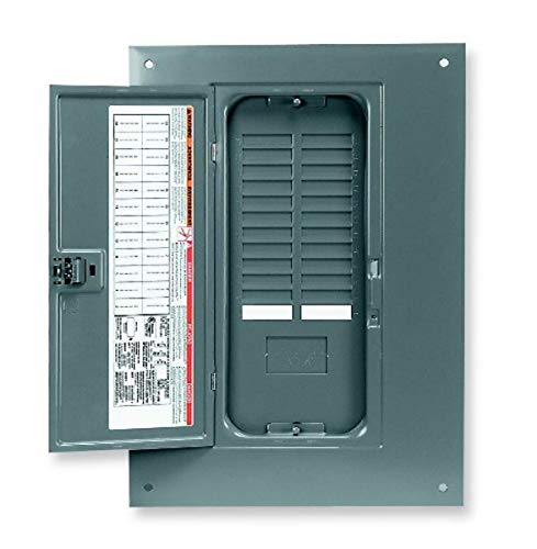 Square D by Schneider Electric QOC24UF 24-Space Load Center Flush Cover