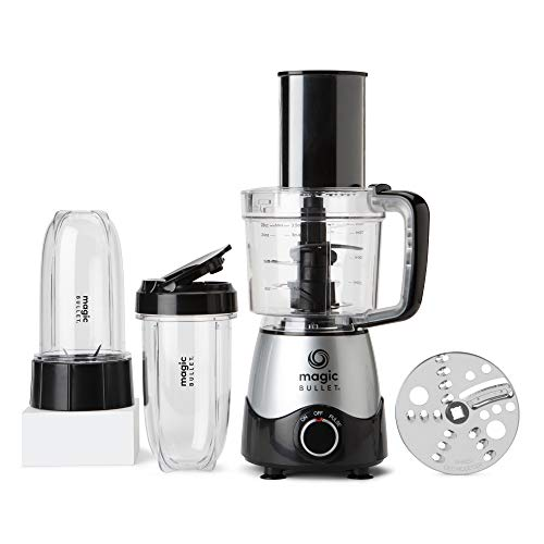 Magic Bullet MB50200 Kitchen Express, Silver, 3.5 cup