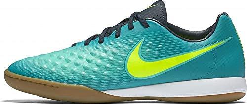 Nike 844413-375, Botas de fútbol para Hombre, Azul (Rio Teal/Volt/Obsidian/Clear Jade), 46 EU
