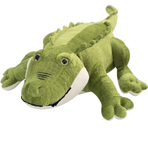 Knuffel, Simulatie Krokodil Knuffels Gevulde Zachte Dieren Kussen Kussen Pop Woondecoratie Cadeau Voor Kinderen 50cm donkergroen