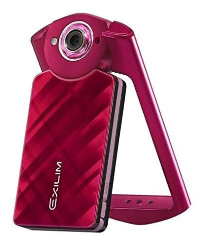 Casio 11.1 MP Exilim High Speed EX-TR50 EX-TR500 Self-portrait Beauty/selfie Digital Camera (Red) - International Version (No Warranty)