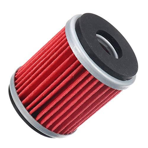 Andere Systeme Motoren Öl Vierzylinder Gebrauchtteile Motorrad-Ölfilter gepasst for WR250F WR450F YZ250F YZ450F, einfach zu bedienen.