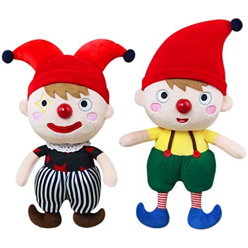 DUTUI Clown Brüder Puppe Plüschtiere, Süße Puppen Für Kinder Performance-Spiele, Geburtstagsgeschenke Für Kinder 2PCS