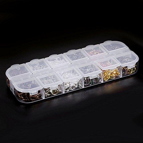 Sieraden Crafting Set, 6 kleuren legering sieraden tool, sieraden ketting armband maken bevindingen kit met doos