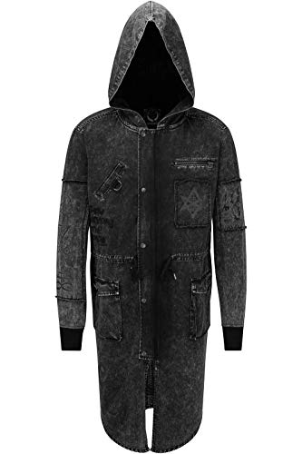 Killstar Parka Jacke - Serpents S