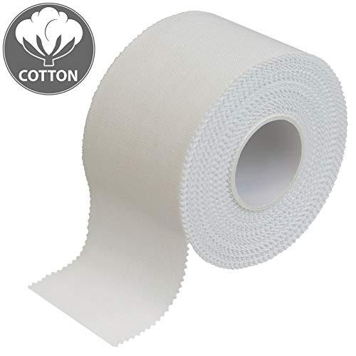 ALPIDEX 12 x Cinta Adhesiva Deportiva Blanca 3,8 cm x 10 m Sport Tape
