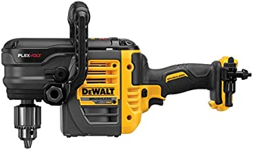 DEWALT FLEXVOLT 60V MAX Right Angle Drill, Stud/Joist, 1/2-Inch, Tool Only (DCD460B)