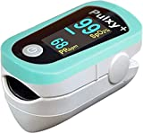 医 日本製 パルスオキシメーター パルキシープラス EC102F パステルグリーン 1年保証 特定保守管理医療機器