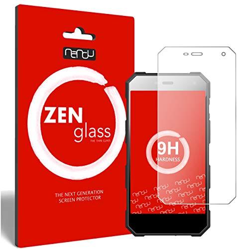 ZenGlass Nandu Pellicola Protettiva in Vetro Compatibile con Nomu S10 PRO I Protezione Schermo 9H