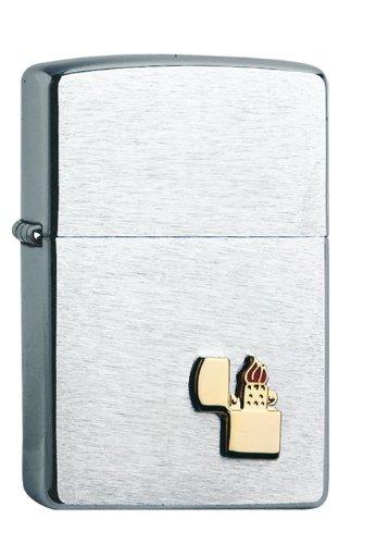 Zippo Zippo 1300003 Feuerzeug Lighter Emblem Chrome
