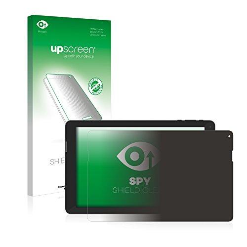 upscreen Anti-Spy Blickschutzfolie kompatibel mit TrekStor SurfTab xintron i 10.1 Fan Edition Privacy Screen Sichtschutz Bildschirmschutz-Folie