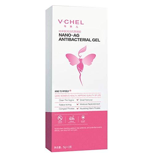 ColorfulLaVie Gel Nettoyant pour Parties Intimes Femelles Vagin Ferme Anti-Dessèchement Supprimer l'odeur Soulage les Démangeaisons