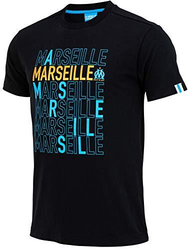 OLYMPIQUE DE MARSEILLE T-Shirt Om - Collection Officielle Taille Homme M