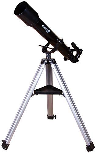 Rifrattore Levenhuk Skyline BASE 70T – Perfetto Come Primo Telescopio per Osservare Oggetti Terrestri, la Luna e i Pianeti del Sistema Solare