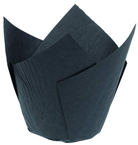 Le Petit Mitron Mallard ferriere-caissettes tulipcup mm Noires p/200