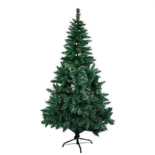 Topashe Material PVC Árbol de Navidad Artificial Acebo Natural,Árbol de Navidad encriptado,...