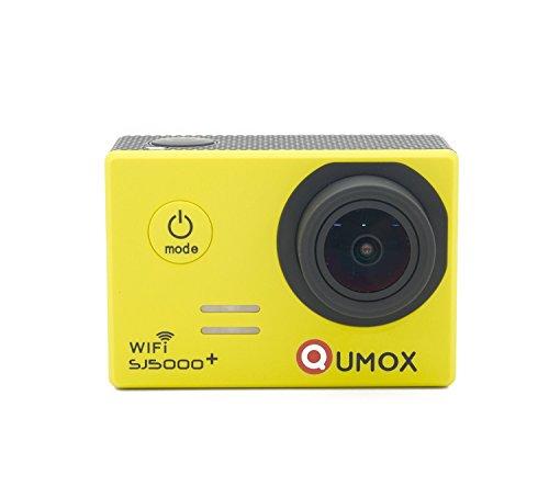 QUMOX Original SJ5000 WIFI Plus - Cámara de Deporte para casco Impermeable, Video de Alta definición 1080p Full-HD de 2.0...