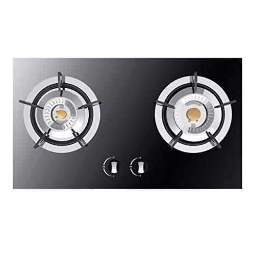 Cooktop Wirbel-Feuergasherd, eingebauter Haushaltsofen, Doppelofen, eingebetteter Desktop-Doppelzweckkochherd