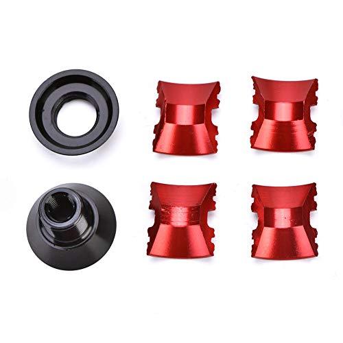 OhhGo Fahrrad Headset Stecker Aluminiumlegierung Fahrrad Headset Erweiterungsstecker für 28.6Mm Carbon Gabel Teile