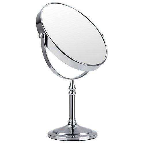 Songmics Espejos para baño de 7X aumentos 8 Inch para Maquillaje cosmético BBM760