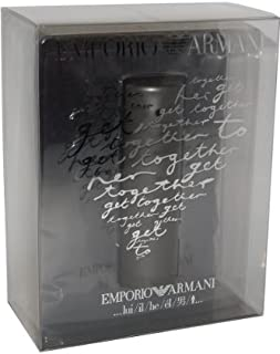 Emporio He by Giorgio Armani for Men 2 Piece Set Includes: 1.7 oz Eau de Toilette Spray + T Shirt