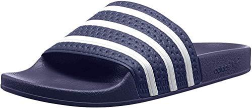 adidas Adilette, Chanclas Unisex Adulto, Azul (Adiblu White Adiblu 288), 44.5 EU