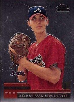 2000 Topps Chrome Traded Baseball #T88 Adam Wainwright Rookie Card
