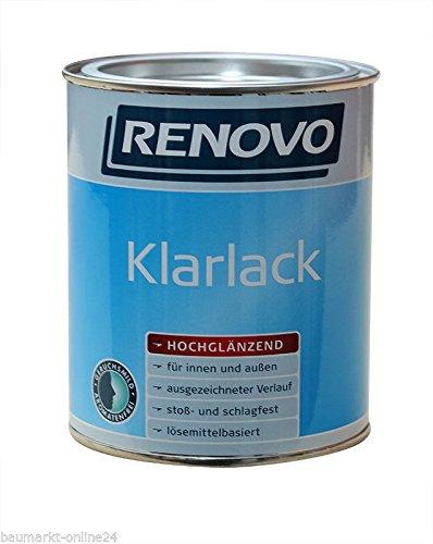 Klarlack 125 ml Hochglänzend Renovo