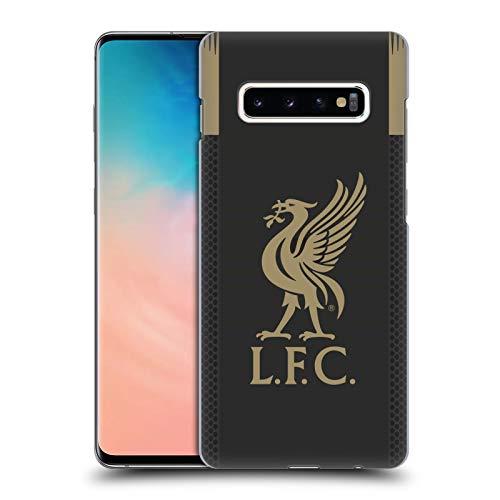 Head Case Designs Offizielle Liverpool Football Club Home Torwart 2019/20 Kit Harte Rueckseiten Handyhülle Hülle Huelle kompatibel mit Samsung Galaxy S10+ / S10 Plus