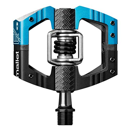 Crankbrothers Mallet Enduro Pedal black/electric blue 2017 Pedale