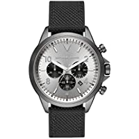 Michael Kors Gage Chronograph Black Silicone Watch