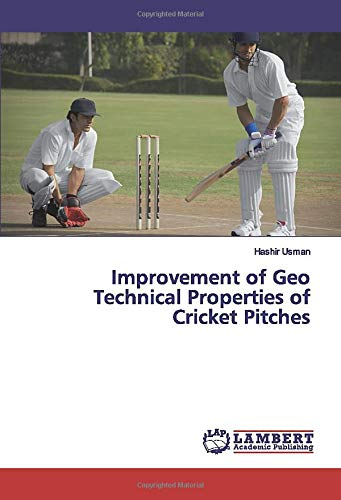 Improvement of Geo Technical Properties of Cricket Pitches