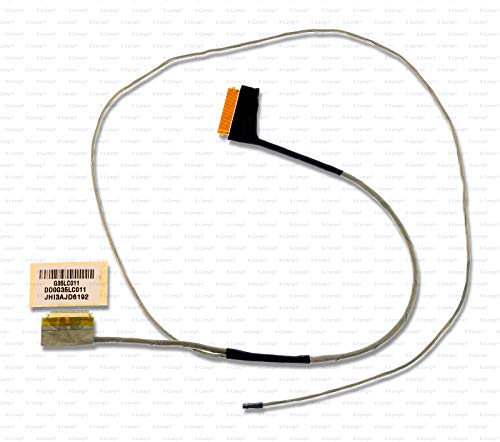 X-Comp Cable de vídeo LCD DD0G35LC011 JHI3AJD6202 856733-001 para HP Omen 15-AX 15-AX000 15-AX200 Pavilion 15-BC Serie