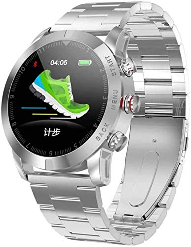 JSL S10 Sport Smart Watch Hombres Mujeres Ip68 Impermeable con Monitor de Sueño Frecuencia Cardíaca Smartwatch Fitness Tracker para iOS Android Exquisito/F-F
