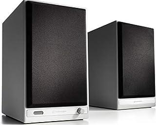 Audioengine HD6 150 W trådlösa drivna bokhyllhögtalare   Inbyggda USB 24-bitars DAC & analog förstärkare   aptX HD Bluetoo...