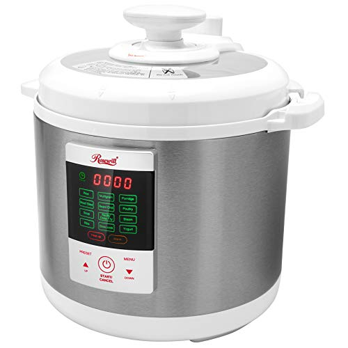 Rosewill RHPC-15001, Pressure Cooker, Non-Stick Pot/White