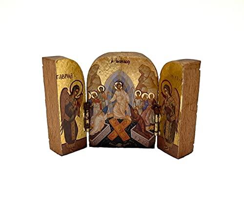 DELL'ARTE Artículos religiosos, triptico resurrección...
