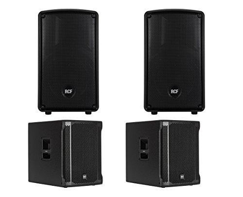 Best Prices! 2x RCF HD 10-A MK4 + 2x RCF Sub 705-AS II